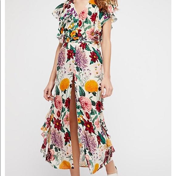 900464a292b New Free People maxi Dana dress size M